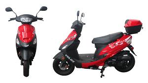 Scoot 50 Red